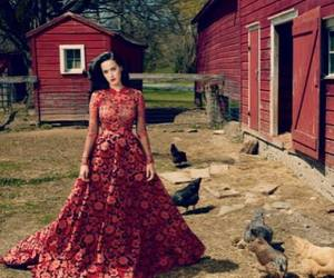 my idol, katy perry, and red image