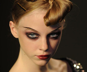 Christian Lacroix, dark, and hair image