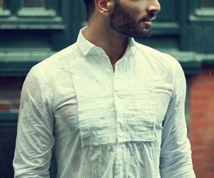 beard, fashion, and handsome image
