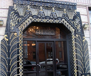 art deco and entrance image
