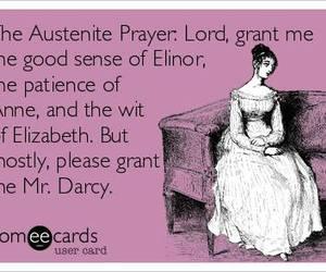 mr darcy and prayer image