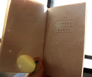 book, the lovely bones, and canon eos 1000d image