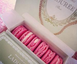 pink, food, and laduree image