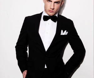guy, model, and suit image