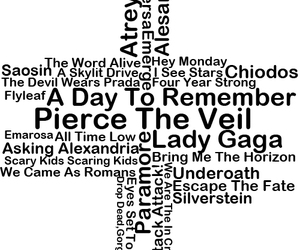 all time low, Atreyu, and bands image