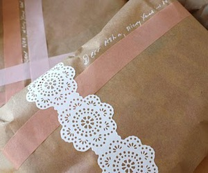 doilies, gift wrap, and packaging image