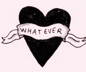 heart, whatever, and love image