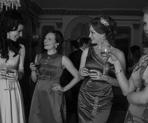 Betty Draper, January Jones, and peggy olson image