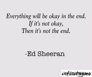 inspirational, quote, and ed sheeran image