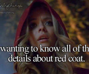 red coat, alison, and pretty little liars image