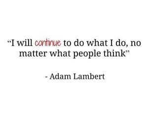 adam lambert, quote, and love image