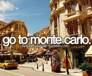 city, monte carlo, and travel image