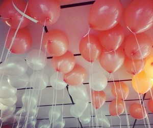 balloons, decorations, and party image