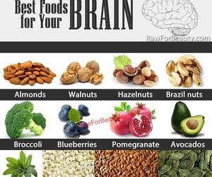 food, brain, and healthy image