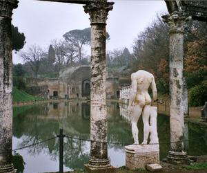 art, italy, and villa adriana image