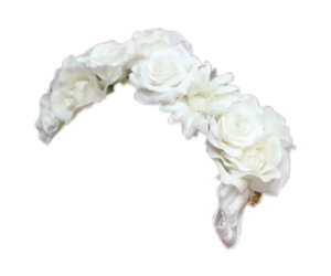 crown, flowers, and transparent image