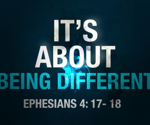 different and ephesians image