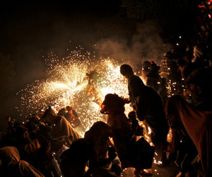 fireworks and party image