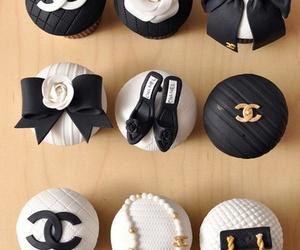 bow, cake, and cupcake image