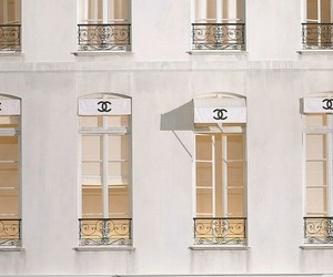 chanel, white, and store image