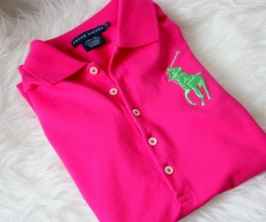 pink, Polo, and ralph lauren image