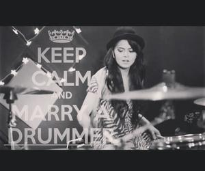 cool, drummer, and girls image