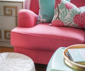 chair, decor, and girly image