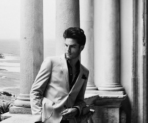 fashion, homme, and Modeling image