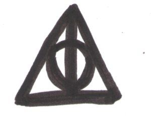 harry potter, transparent, and the deathly hallows image