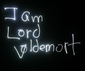 lord voldemort, harry potter, and voldemort image