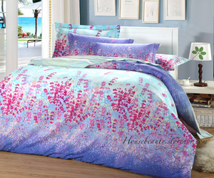 beautiful, bedding, and bedroom image