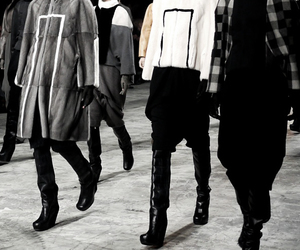 Rick Owens, fw 12, and grace difford image