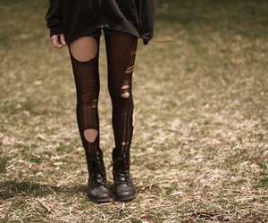girl, legs, and boots image