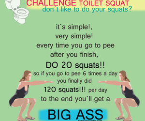 ass, butt, and exercise image