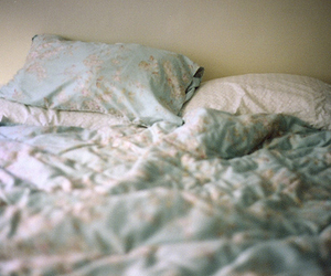 bed and vintage image
