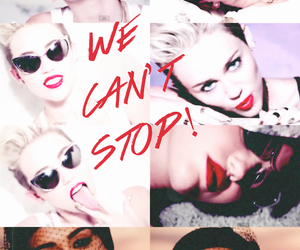 dance, we can't stop, and miley cyrus image