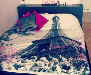 paris, bed, and room image