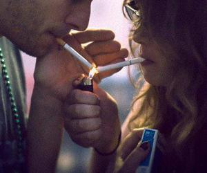 boy, cigarettes, and girls image