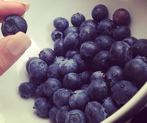 blue, blueberries, and blueberry image