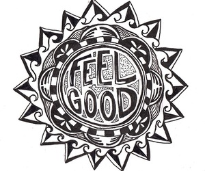 feel good and love image