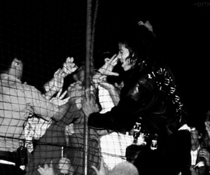concert, fence, and moonwalkers image