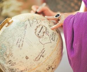 travel, globe, and world image