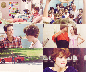 john hughes, Molly Ringwald, and michael schoeffling image