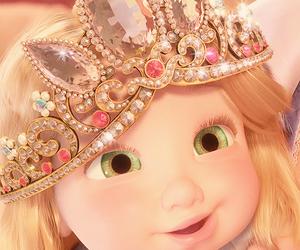 princess, tangled, and disney image