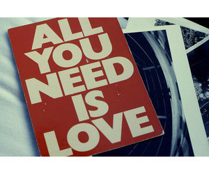 free, the beatles, and love image