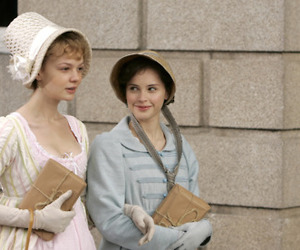 Felicity Jones, Carey Mulligan, and jane austen image