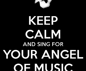 angel, of, and sing image