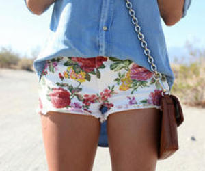 fashion, pretty, and shorts image