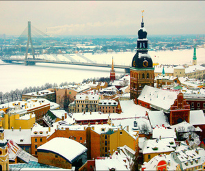 city, europe, and latvia image