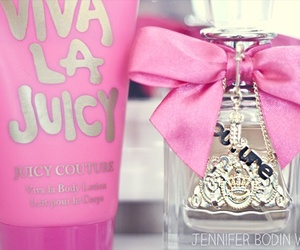 pink, perfume, and viva la juicy image